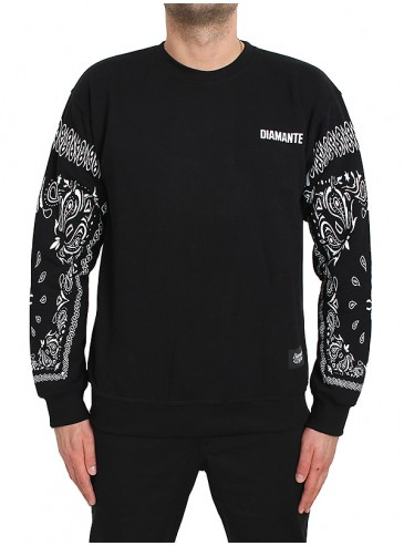 Diamante Wear Gangs Crewneck BK Black