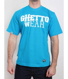 Ghetto Wear Logo Simple Blue