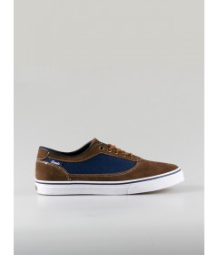Lando Shoes Hype Navy/Brown