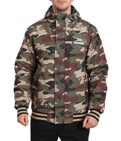 Mass Denim Winter District Jacket Woodland Camo