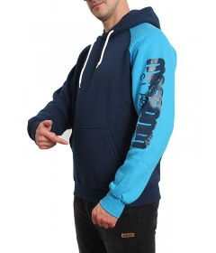 Mass Denim Sweatshirt Hoody Section Navy