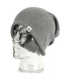 Elade Knit Beanie Light Grey
