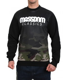 Mass Denim Sweatshirt Crewneck Eclipse Black