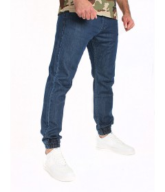 Mass Dnm Jogger Base Denim Sneaker Fit Blue