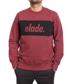 Elade Crewneck Stripe Red Jeans