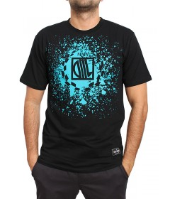 Diil Gang T-shirt Koszulka Splash Black