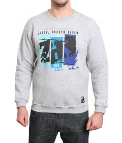 ZDR Bluza Crewneck Three Blocks Grey