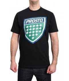Prosto T-Shirt Koszulka Shield XVIII Black
