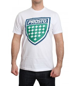 Prosto T-Shirt Koszulka Shield XVIII White