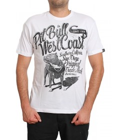 Pitbull West Coast T-shirt Doggy White