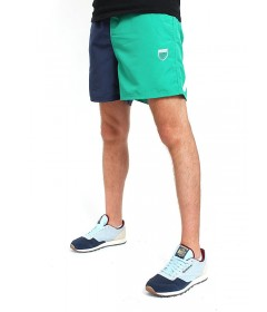 Prosto Shorts Secretly Green/Navy