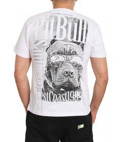Pitbull West Coast T-shirt Sunlight White