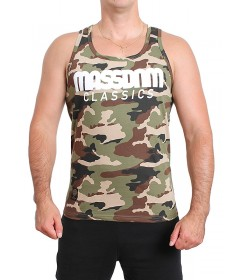 Mass Denim Classics Tank Top Woodland Camo