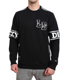 Lucky Dice Bluza Crewneck College Black