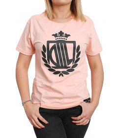Diil Gang Girl T-shirt Classic Rose