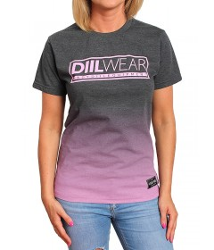 Diil Gang Girl T-shirt Tone Grey