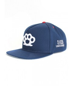 Diil Gang Snapback Knuckles Navy DCZ281