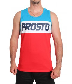Prosto Tank Top Klasyk Divide Blue/Red