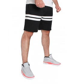 Moro Sport Shorts Two Lines Black