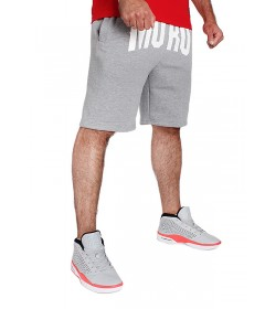 Moro Sport Shorts Big Sign Light Grey