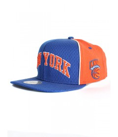 Mitchell & Ness New York Knick Blue/Orange
