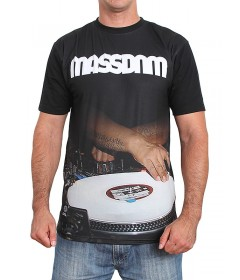 Mass Denim T-shirt DJ Black