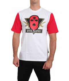 Gang Albanii Logo T-shirt White/Red