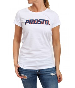 Prosto Girl T-shirt Ssicla White