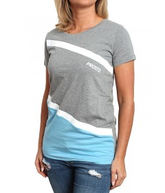 Prosto Girl T-shirt Dripstone Grey/Blue