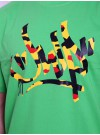 JWP Crew T-Shirt Tager Green MIx
