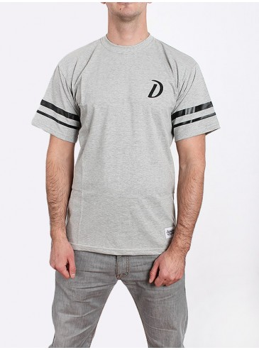 Diamante Wear T-shirt D-Stripes Grey