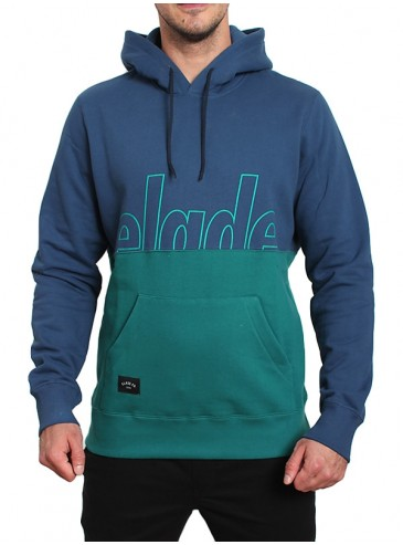 Elade Hoody Bluza Z Kapturem Two Tone Blue Ocean Green