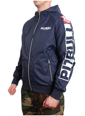 Pitbull Athletic VIII Jacket Navy