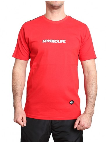 New Bad Line T-shirt Tape Red