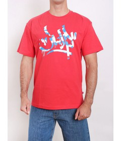 JWP Crew T-Shirt Tager Red Mix
