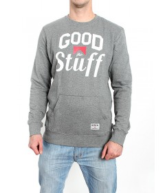 Koka Crewneck Good Stuff 3 Grey