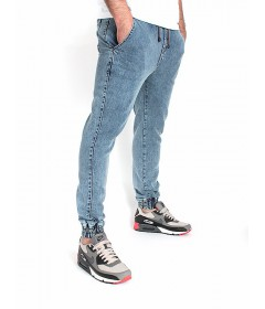 Diamante Wear Jogger Light Blue