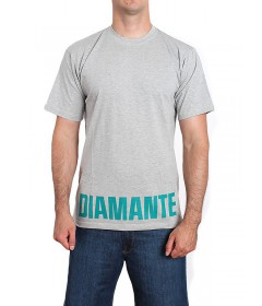 Diamante Wear T-shirt D-Down Grey