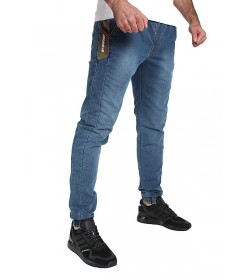 Jigga Wear Jogger Vertical Name Jeans