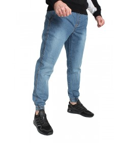 Jigga Wear Jogger Crown Light Blue Jeans