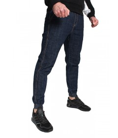 Jigga Wear Jogger Crown Dark Blue Jeans