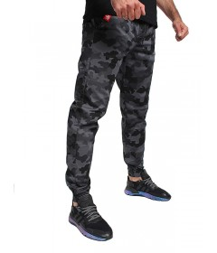 Jigga Wear Jogger Crown Grey Camo