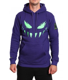 Bor Hoody Face Purple