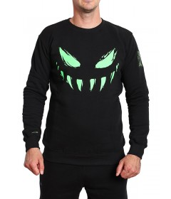 Bor Crewneck Face CR Black