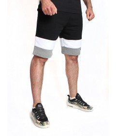 Prosto Shorts Lines Grey/White/Black