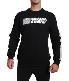 Ciemna Strefa Crewneck Klasyk CS Dative Black/ Grey