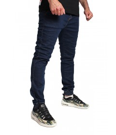 Elade Jogger Pants Dark Blue Denim