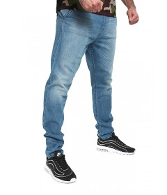 Elade Pants Selvedge Light Blue Denim