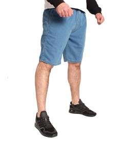 Elade Classic Jogger Shorts Light Blue Denim Baggy