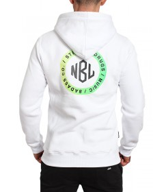 New Bad Line Hoody Cupsel White